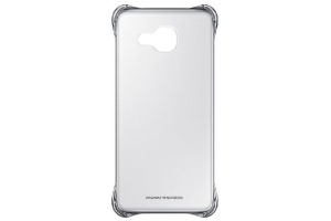 Samsung Galaxy A3 2016 (A310) Şeffaf Kılıf (Gümüş)