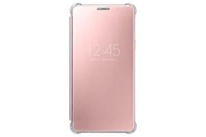 Samsung Galaxy A5 2016 (A510) Clear View Kılıf (Pembe)