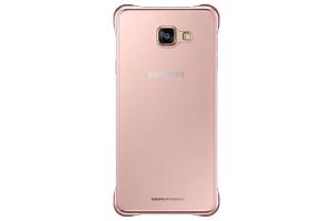 Samsung Galaxy A7 2016 (A710) Şeffaf Kılıf (Pembe)