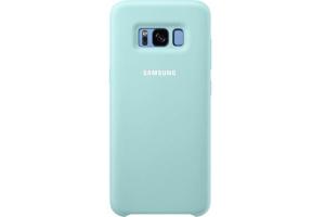Samsung Galaxy S8 Silikon Koruyucu Kılıf (Mavi)
