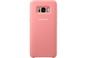 Samsung Galaxy S8 Silikon Koruyucu Kılıf (Pembe)