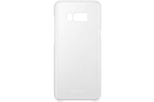 Samsung Galaxy S8+ Şeffaf Koruyucu Kılıf (Gri)