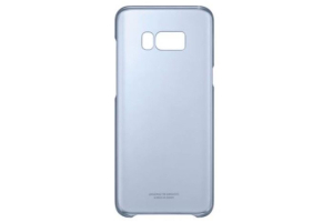 Samsung Galaxy S8+ Şeffaf Koruyucu Kılıf (Mavi)