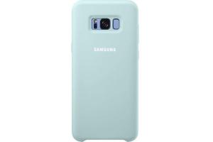 Samsung Galaxy S8+ Silikon Koruyucu Kılıf (Mavi)
