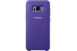 Samsung Galaxy S8+ Silikon Koruyucu Kılıf (Mor)