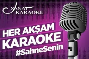 Sanat Cafe & Bar'da Her Akşam Gerçekleşecek Karaoke Gecesi Giriş Bileti