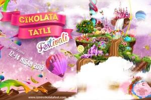 12 - 14 Nisan İzmir Çikolata & Tatlı Festivali Giriş Bileti