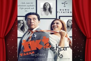 Evrim Alasya ve Emre Kınay'ın Birlikte Rol Aldığı 'İki Bekar' Tiyatro Oyunu Bileti