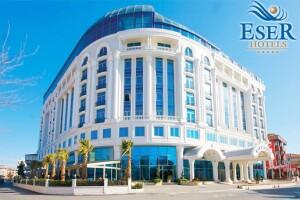 Eser Premium Hotel'de Kahvaltı Dahil Seçenekli Çift Kişilik Konaklama