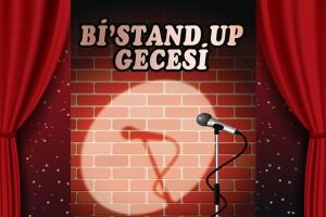 Eğlence Dolu Bi'Stand Up Gecesi Giriş Bileti