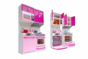 Oyuncak Mutfak Seti Açılır Kapak, Fonksiyonlu - 2 Parçalı, Eğitici Evcilik Oyuncakları