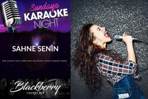BlackBerry Lounge Bar'da Her Pazar Karaoke Party