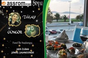 Adalar Manzaralı Dragos Sahil Aşşrom Restaurant'ta Her Cuma Canlı Fasıl Eşliğinde Akşam Yemeği