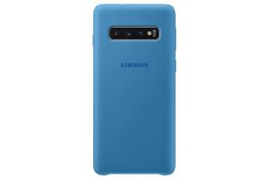 Samsung Galaxy S10 Mavi Silikon Kılıf
