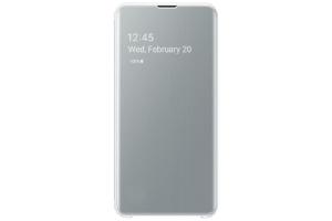 Samsung Galaxy S10e Beyaz Clear View Kılıf