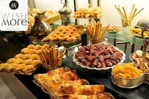Bayrampaşa Wish More Hotel İstanbul'da Zengin Açık Büfe İftar Menüsü