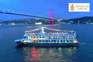 Lüfer-6 Gemisi ile Canlı Fasıl, Semazen ve Yöresel Halk Oyunları Gösterileri Eşliğinde Boğaz'da İftar Keyfi ve Eğlencesi