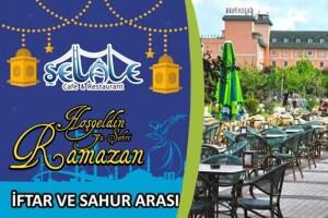 Şellale Cafe & Restaurant'tan Ramazan'ı Şerif-i Renklendiren Sahur & İftar Menüleri