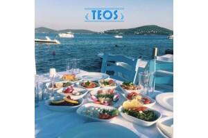 Kınalıada Teos Beach Club'ta Tadına Doyulmaz Balık Menüleri