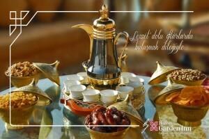 Hilton Garden Inn İstanbul Ümraniye'de Zengin Açık Büfe İftar Menüsü