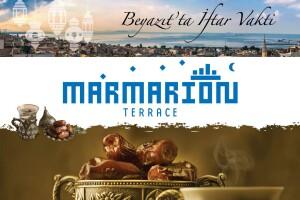 Marmarion Teras Antik Hotel İstanbul'da Zengin Açık Büfe İftar Menüsü