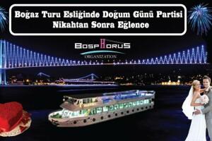 Bosphorus Organizasyon'dan Boğazda Açık Büfe Limitsiz İstanbul Geceleri, Doğum Günü veya Nikahtan Sonra Eğlence Partisi