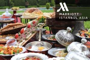 İstanbul Marriott Hotel Asia Orange Restaurant'ta Canlı Fasıl Eşliğinde Açık Büfe İftar Menüsü