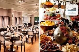 Divan İstanbul Asia Brasserie Restaurant'ta Enfes Açık Büfe İftar Menüsü