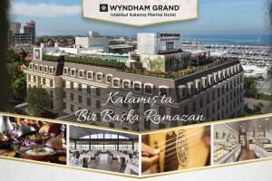 Wyndham Grand Kalamış Marina Hotel'de Geleneksel Fasıl Eşliğinde Saray Mutfağından Özel Lezzetler ile Muhteşem Açık Büfe İftar