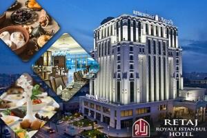 5 Yıldızlı Retaj Royale İstanbul Hotel'de Muhteşem İftar Menüsü