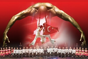 22 Mayıs Anadolu Ateşi - İstanbul Dreams İzmir Kültürpark Açıkhava Sahnesi Gösteri Bileti