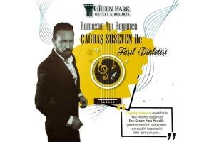 The Green Park Pendik'ten Çağdaş Suseven ile Canlı Fasıl Eşliğinde Açık Büfe İftar Ziyafeti