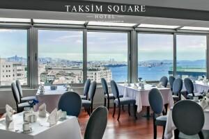 Taksim Square Hotel'de Boğaz Manzarası Eşliğinde Enfes İftar Menüsü