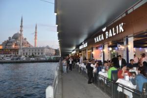 Galata Yaka Balık'ta İstanbul Manzaralı Enfes İftar Menüsü