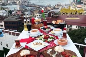Seyri Cihan Cafe & Restaurant'ta Eşsiz Deniz Manzarasına Nazır İftar Keyfi