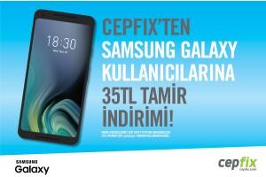 Cepfix'ten 35 TL Telefon & Tablet Tamir İndirimi!
