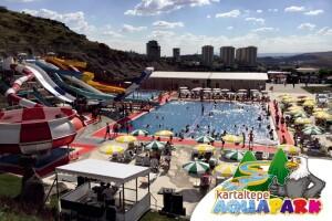 Ankara Kartaltepe Aquapark'ta Eğlencenin Tadını Bolca Çıkarmanız İçin Havuz Giriş Bileti