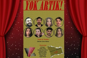 'Yok Artık' Komedi Skeç Tiyatro Oyunu Bileti