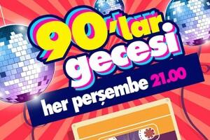 Yaz Boyunca Her Perşembe 90'lar Gecesi Sanat Party Hall Açık Hava Konser Bileti