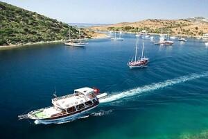 Tam Gün Öğle Yemeği Dahil Bodrum Tekne Turu