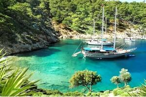 Tam Gün Yemekli Orak Adası Tekne Turu