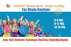 İstanbul Kumpanyası'ndan 6-15 Yaş Arası Çocuk Sanat Eğitimleri Yaz Okulu