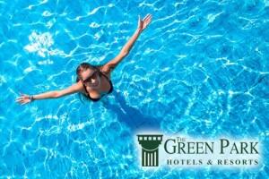 The Green Park Hotel Bostancı'da Limonata İkramlı Muhteşem Havuz Keyfi