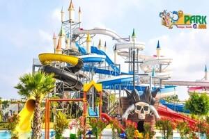 Kundu Park Aqua'da Havuz Girişi ve Meşrubat İkramı