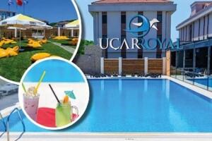 Şile Uçar Royal Hotel'de Yiyecek ve İçecek Seçenekli Havuz Keyfi