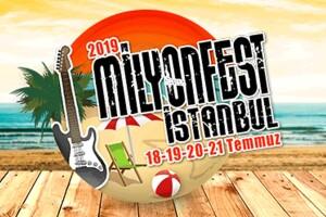 (SON BİLETLER!) 40 Muhteşem Müzisyen ve Dopdolu Eğlence ile MilyonFest İstanbul 2019 Biletleri