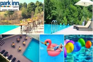 Park Inn by Radisson Istanbul Airport Odayeri Hotel'de Yemyeşil Doğada Sonsuzluk Havuzu ve Açık Büfe Kahvaltı Keyfi