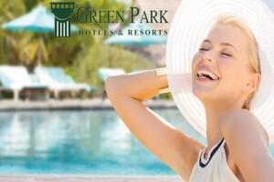 5 Yıldızlı The Green Park Pendik Hotel'de Açık Havuz Kullanımı
