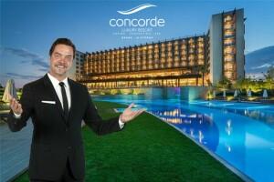 Kıbrıs Concorde Luxury Resort & Casino'da 7 Eylül Beyaz Show Galası Dahil Tatil Paketleri