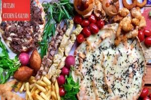 Yeşilköy Artisan Kitchen & Kalyan'dan 2 Kişilik Keyifli Yemek Menüsü